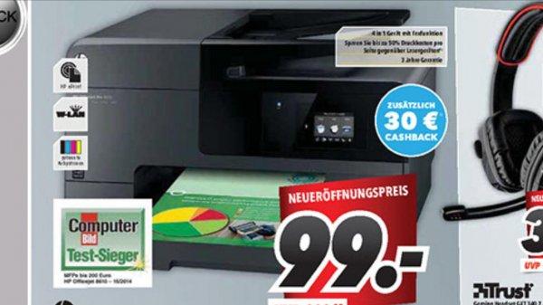 HP Officejet Pro 8610 e-All-in-One Drucker MediMax Gera (rechn. 69 Euro dank Cashback) ab 24.09.