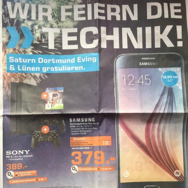 Samsung S6 32GB für 379€ @Saturn Dortmund Westenhellweg