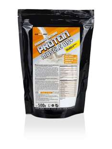 [Amazon.de-Prime] BodyWorldGroup Premium Nature Protein Muscle 85+, Elite Line, Banana Cream  500g,