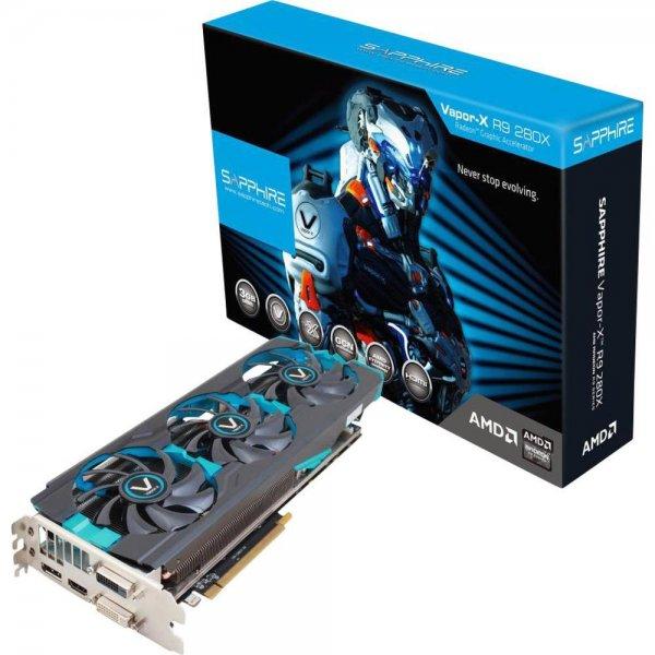 Grafikkarte Sapphire Vapor-X AMD Radeon R9 280X Tri-X Overclocked 3 GB (Conrad)