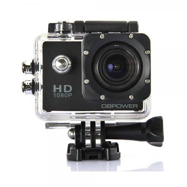 [Amazon] DBPOWER® HD 1080P Action Cam mit 2 verbesserten Batterien