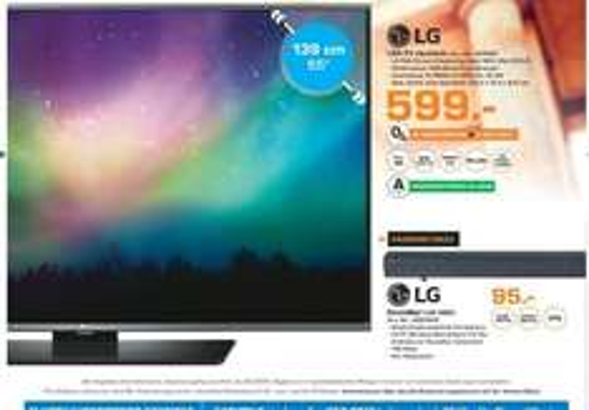 [Lokal Saturn Märkte Berlin] LG 55LF6309 139 cm (55 Zoll) LED-TV, Full HD, Edge LED, Triple Tuner, WLAN, Smart TV, Web OS 2.0 für 599,-€