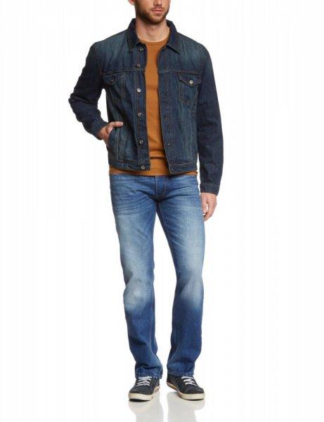 Leider Ausverkauft, doch weitere Marken Jacken S-XXL im ersten Kommentar / MUSTANG / Jeans Jacke Manhatten / Größe M  / @outlet46.de