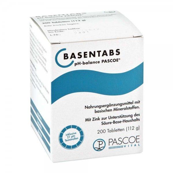 Gratis-Produktprobe BASENTABS von PASCOE / Calcium Magnesium Zink