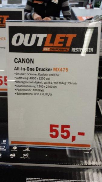 [offline] Canon MX475 Fax, Scanner, Kopierer und Drucker