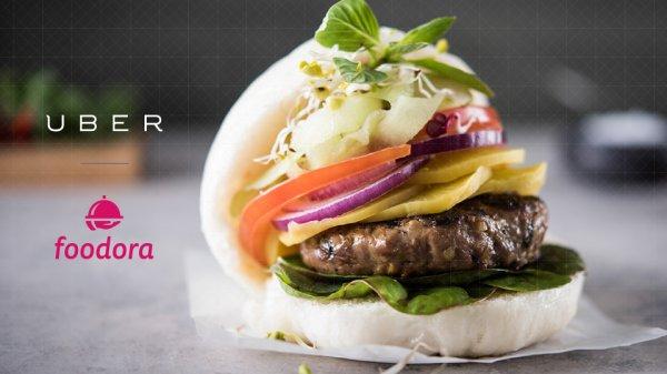 Berlin nur 25.09. - Uber liefert kostenfreie Burger aus