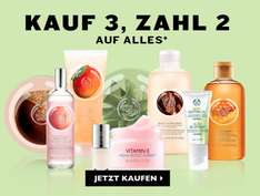 *UPDATE* The Body Shop: 3x Wild Argan Beauty Öl für 21€ statt 37€