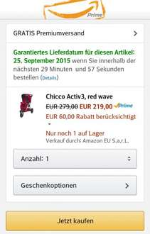 Chicco Activ3 red[amazon family+prime]