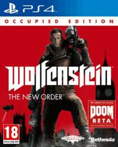 Wolfenstein: The New Order Occupied Edition (PS4/One) für 22,69€ bei Game.co.uk