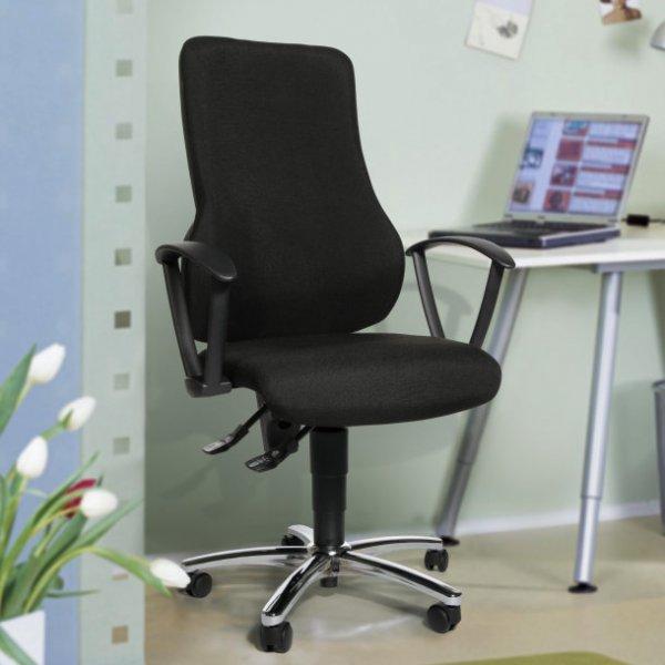 Aldi Nord: Wellness - Drehstuhl mit Body-Balance-Tec Sitzgelenk ab 1.10.15