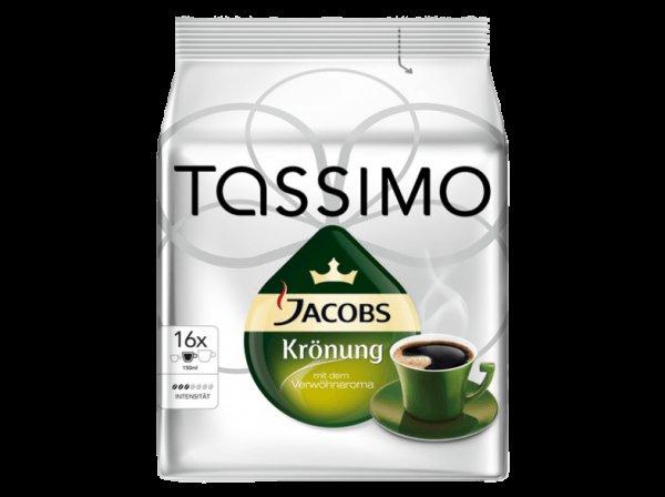 [MediaMarkt.de] TASSIMO Jacobs Krönung Tassenportion Kaffeekapseln - 16 Portionen - 3,00 EUR