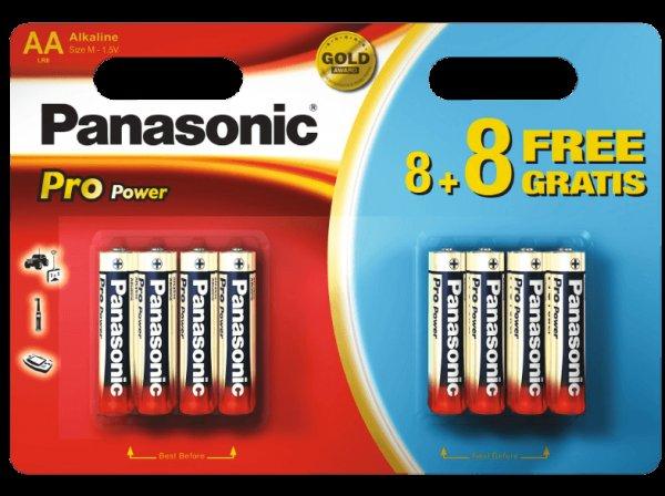 [MediaMarkt.de] 16x Panasonic Pro Power AA (8+8) für 2,- versandkostenfrei
