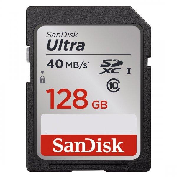 SanDisk Ultra SDXC 128GB UHS-I Class 10 Speicherkarte