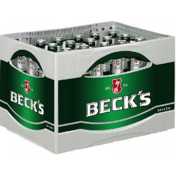 [REWE] 20x 0,5 L Becks Bier für rechnerisch 7,99 Euro +Pfand pro Kiste [Payback]