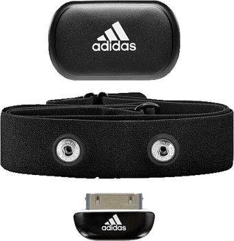 adidas ANT+ Herzfrequenzsensor mit Textilgurt + iPhone / iPod Adapter  für 28,99€ @ eBay
