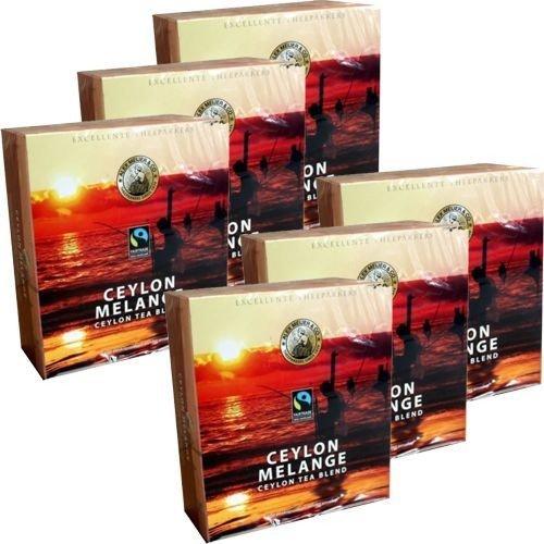 6x 100er Pack premium Alex Meijer Teebeutel 'Ceylon Tea Blend für @ €11,48 inkl. VSK