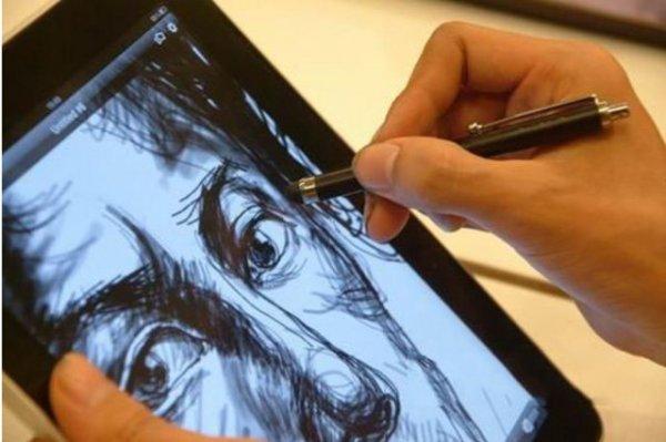 Cool Design Metal Touch Stylus Stift für iPhone 6 / 6 Plus , 5 / 5S , 4 4S , iPad und Andriod Phone = allbuy