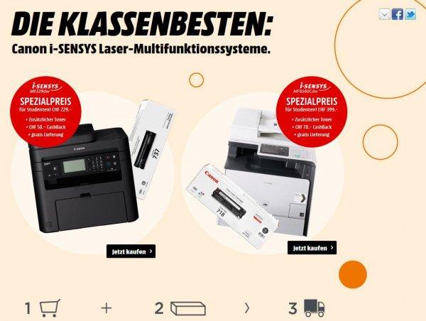 [Schweiz] Canon i-SENSYS MF229dw + Toner + Hama Microfasertuch