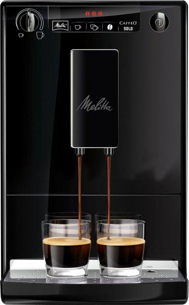 [Amazon WHD] Melitta E 950-222 Kaffeevollautomat Caffeo Solo mit Vorbrühfunktion (schwarz) - sehr gut