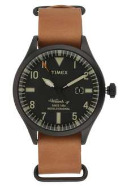[Zalando] Timex Waterbury TW2P64700 Herren Edelstahluhr mit Lederarmband in 2 verschiedenen Varianten für je 34,95€ incl.Versand!
