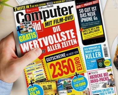 Computerbild 21/2015 - WISO Mein Büro (Jahreslizenz) und weitere Software