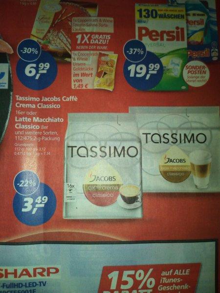 Real offline Tassimo Latte Macchiato 8er und Caffe crema 16er ab 28.09