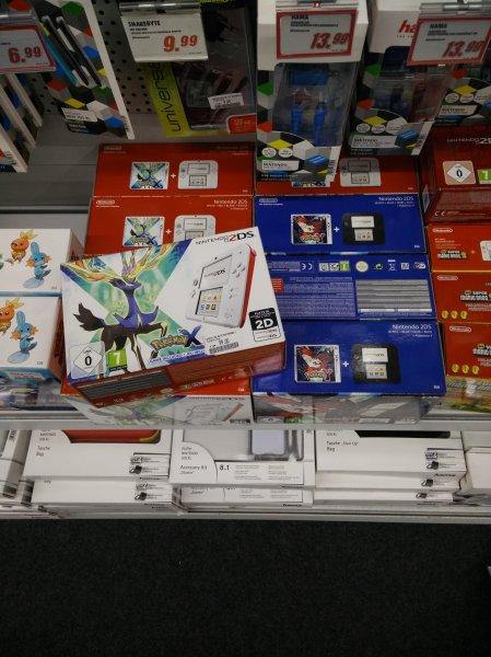 [Lokal Weiterstadt] MM Nintendo 2DS Bundle Pokemon X oder Y