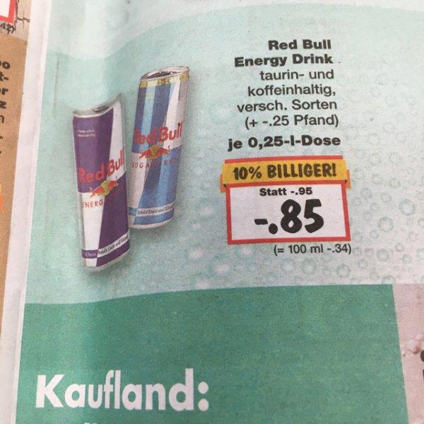 RedBull 0,25l