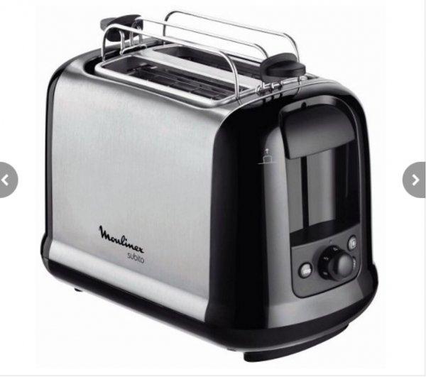 Moulinex Toaster Subito LT2618 Edelstahl
