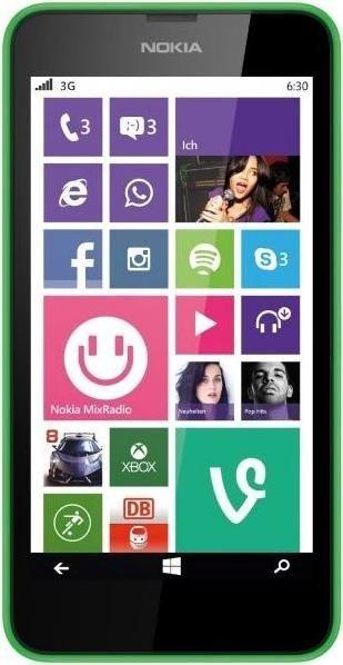 [Saturn] Nokia Lumia 630 Dual-SIM, 8 GB, 4.5 Zoll, Grün, 3G