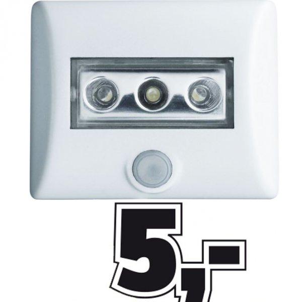 Osram Nightlux LED-Nachtlicht mit Bewegungsmelder und Helligkeitssensor für 5€ @Conrad Filialen