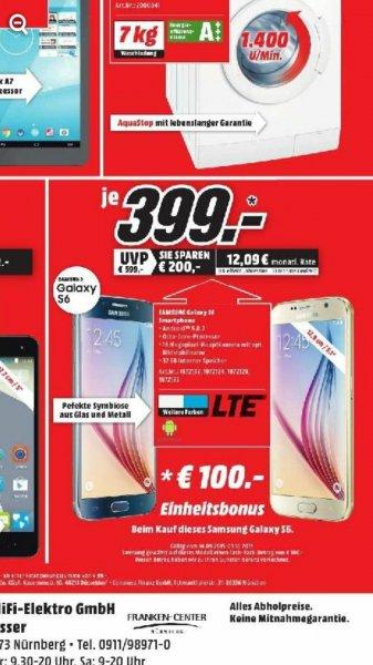 [LOKAL Nürnberg] Samsung Galaxy S6 Media Markt Nürnberg Langwasser