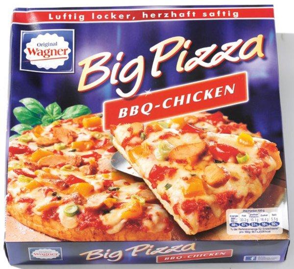 [KAUFLAND] Wagner Big Pizza 400-420g für 1,49€ (Do.+Fr.)
