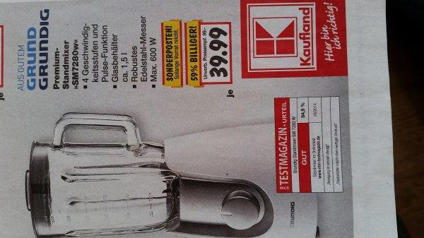 (KAUFLAND )Premium Standmixer SM 7280W Grundig