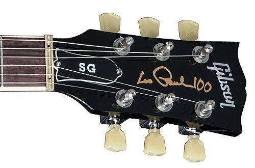 Gibson SG Standard 2015, hochwertige E-Gitarre mit Les Paul-Logo und Hologramm für 1.079 € statt 1.212 €, @Amazon Blitzdeal
