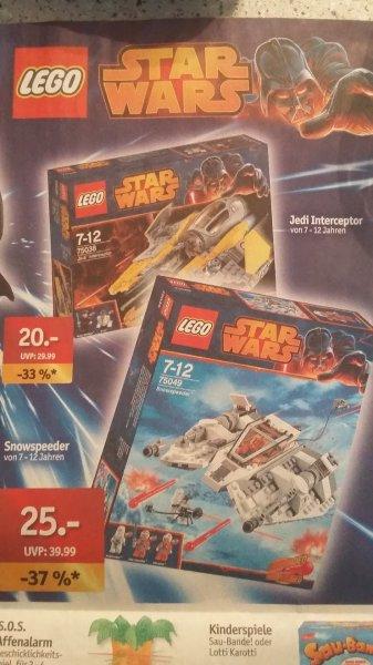 [Sky Center / plaza] Lego Star Wars - Snowspeeder (75049) & Jedi Interceptor (75038)