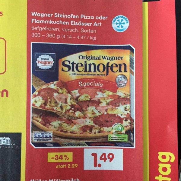 Wagner Steinofen Pizza (Lokal, Netto ohne Hund)