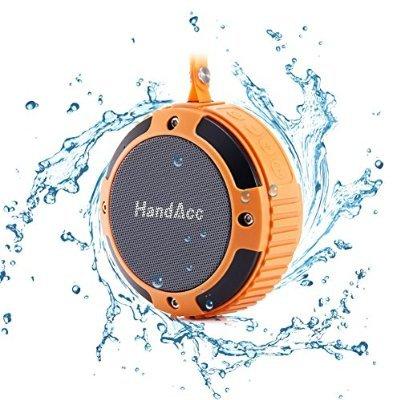[Amazon] Tragbarer wasserdichter Bluetooth 4.0 Lautsprecher von HandAcc -40% (ab 14:00Uhr)