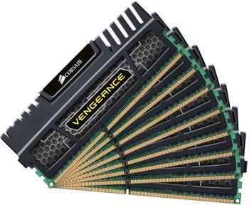 [Amazon] Corsair Vengeance Schwarz 64GB (8x8GB) DDR3 1600 MHz (PC3 12800) Desktop Arbeitsspeicher (CMZ64GX3M8A1600C9) - nächster Preis 354,68€