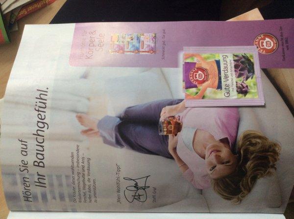 [dm] Alverde zeitschrift Oktober 2015 gratis teepäckchen