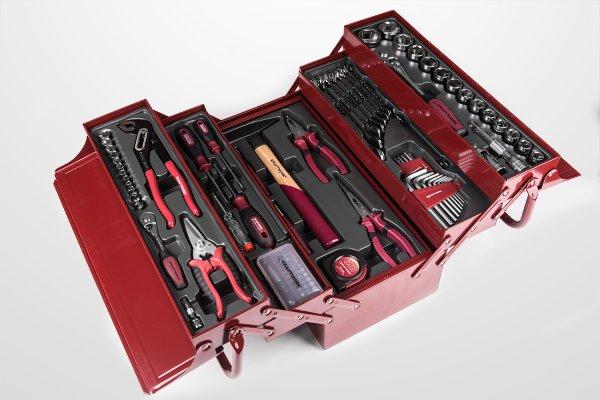[HKL-Baushop][169€] KRAFTWERK Werkzeugkoffer 106tlg.