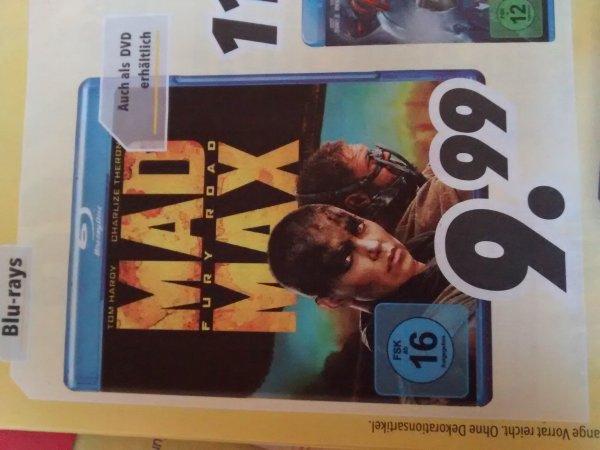 [Medimax bundesweit] Mad Max Blu-ray für 9,99€