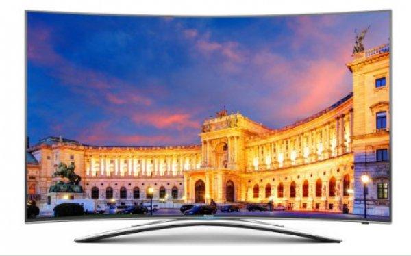 [Amazon Blitzangebot] Hisense 55 Zoll UHD Curved TV zum Bestpreis