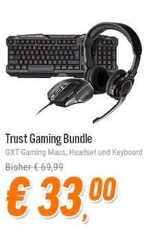 Trust Gaming Bundle - Keyboard - Maus - Headset für nur 35,99 €