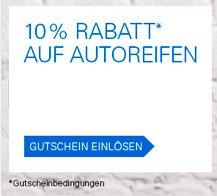 10% auf alle Reifen bei eBay + zahlreiche Hersteller-Rabattaktionen *UPDATE*