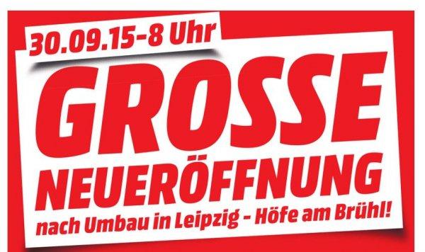 [Lokal] Leipzig Höfe am Brühl - Media Markt Neueröffnung 30.09. - Alle Angebote (Samsung UE50J5150 - 399 Euro, Samsung UE55JU6050 55 Zoll LED-UHD-TV - 599 Euro, uvm.)