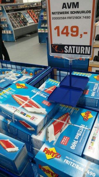 (Lokal Saturn Ludwigsburg Marstall) AVM FRITZ!BOX 7490 für 149€