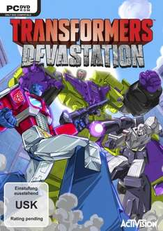 [PC] Transformers Devastation (mit Steamkey) @ Amazon (Vorbestellung)