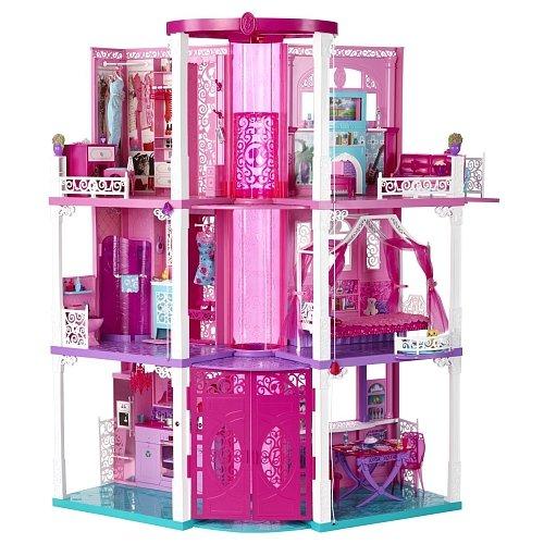 Mattel Barbie X7949 - Puppe 3-stöckige Traumvilla 99,98 € @ toysrus (nächster Preis 189,40 €)