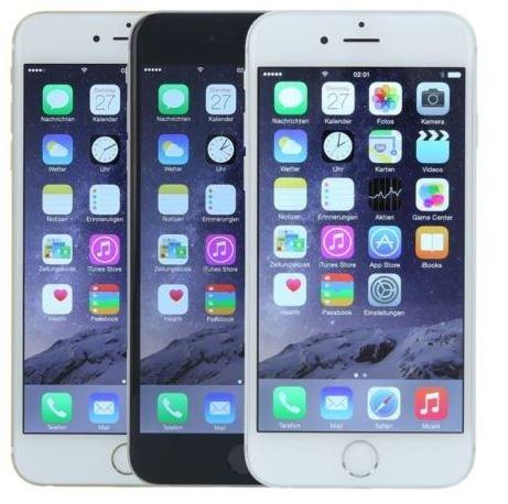 Apple iPhone 6 - 64 GB - Handy ohne Vertrag - verschiedene Farben - Refurbished